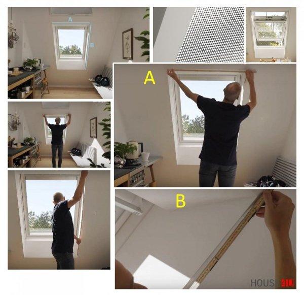 Insektenschutzrollos ZIA Rooflite Contrio Insektenschutz Fliegengitter Manuelle Bedienung, Schutz vor Insekten, Rahmen Aluminium, Anthrazit _house-4u.de
