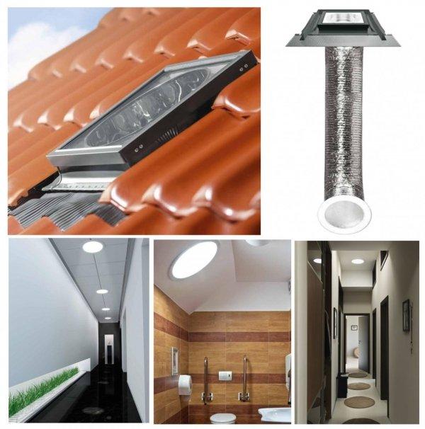 Tageslicht-Spots mit flexiblem Rohr SFZ www.house-4u.eu