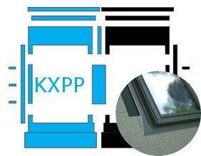 Kombi-Eindeckrahmen Okpol KXPP für Flache Eindeckmaterialen www.house-4u.eu