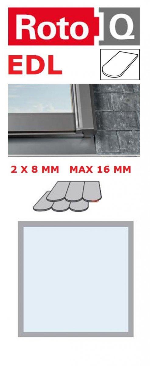 Eindeckrahmen Roto Q-4 EDL Eindeckrahmen für Flach erstreckt bis zu 1,6 cm www.house-4u.eu