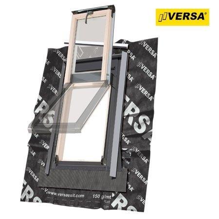 Dachluken Okpol ISW+ E2 78x98 für Nutzräume Uw=1,2 Dachausstiegsfenster aus Holz SOLID+ - Ausstiegsfenster - Dachausstieg - Dachluke - Dachfenster