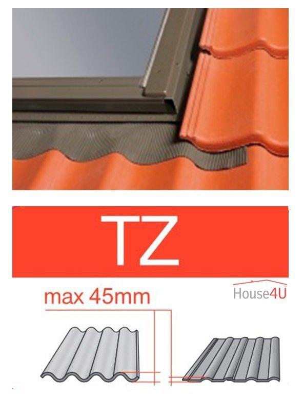 Eindeckrahmen Optilight TZ Eindeckrahmen - für profilierte Eindeckmaterialien / Profilbeläge bis zu 4,5 cm hoch Profil www.house-4u.eu