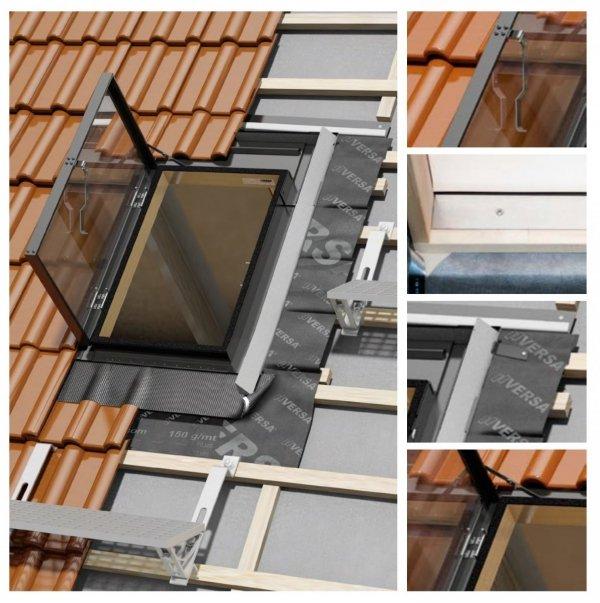 Dachluken OKPOL VERSA WVD+ 47x73 für ungeheizte Räume