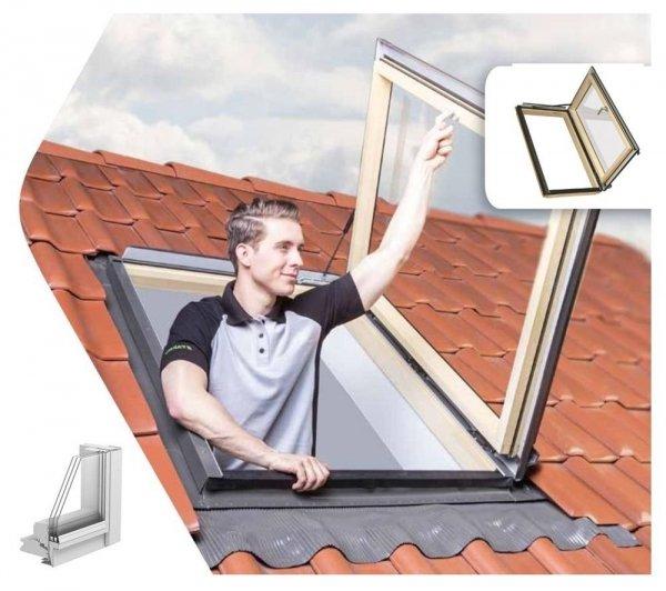 Ausstiegsfenster Fakro FWP U5 FSC Wohndachausstieg