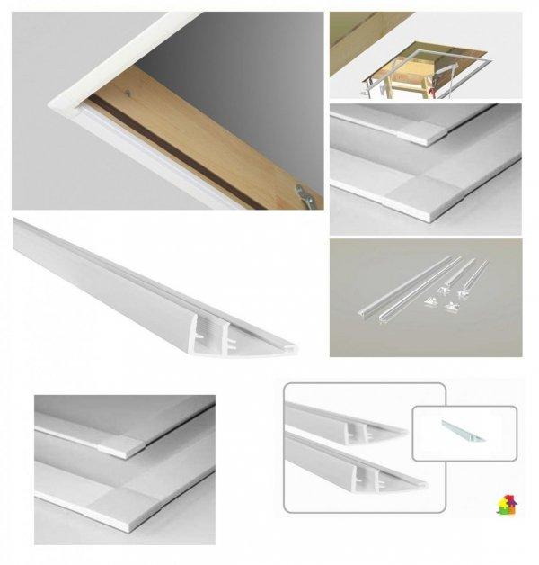 Blendleisten LXL-PVC FAKRO Bodentreppenzubehör www.house-4u.eu