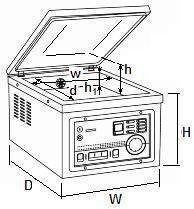 Pakowarka próżniowa CAS CVP-450/A