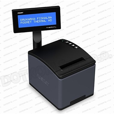 Drukarka fiskalna Posnet Thermal HD EJ - kopia elektroniczna