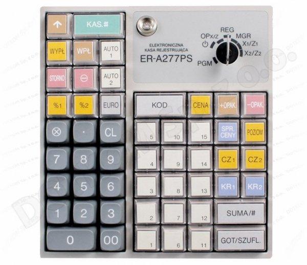 Kasa fiskalna Sharp ER-A277PS + serwis GRATIS