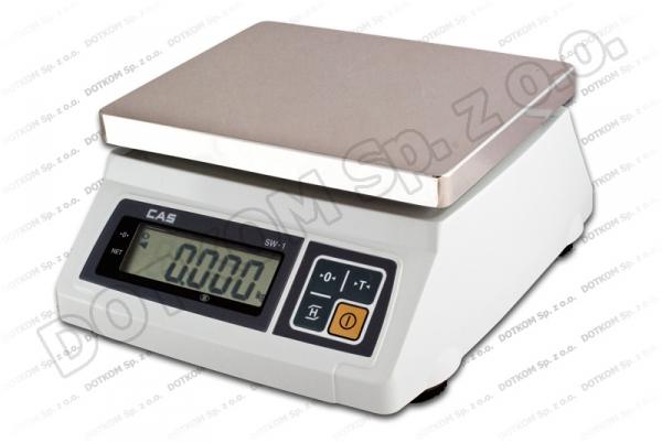 Niewielka waga Dibal PS 50 - idealna na małe powierzchnie (bazar, mała lada) - waga z legalizacją