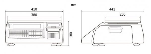 Waga etykietująca CAS CL5200 JUNIOR B 15