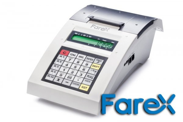Kasa fiskalna Farex Bursztyn - kasa szkoleniowa