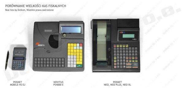 Kasa fiskalna Novitus PS 4000 E + serwis GRATIS