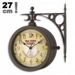 TFA 60.3011 NOSTALGIA zegar ścienny  wskazówkowy z termometrem zewnętrzny 27 cm