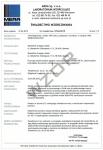 Świadectwo wzorcowania termohigrometru dwukanałowego SW-4 rejestratora temperatury i wilgotności bez akredytacji PCA