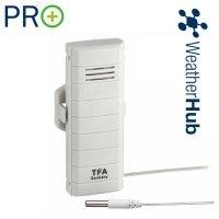 TFA 30.3308 czujnik temperatury bezprzewodowy z wodoszczelna sondą PRO do WeatherHub