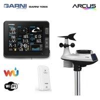 Stacja pogody bezprzewodowa on-line WiFI Garni 1055 ARCUS zewnętrzna wiatr, opady, UV