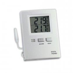 TFA 30.1012 termometr elektroniczny z zewnętrznym czujnikiem przewodowym