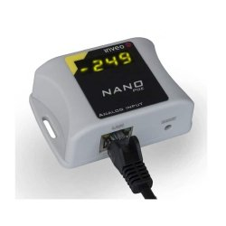 Konwerter sygnału analogowego do Ethernet i RS485 Inveo Nano Analog Input przetwornik analog do Modbus RTU/TCP