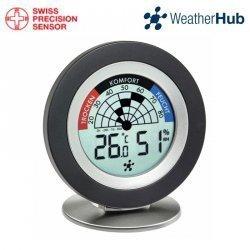 TFA 30.5043 COSY RADAR termohigrometr domowy bezprzewodowy wewnętrzny monitro klimatu do systemu WeatherHub