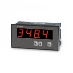 Miernik uniwersalny temperatury i sygnałów analogowych APAR AR518 wyświetlacz 25 mm tablicowy 144 x 72 mm wyjście analogowe Modbus RTU