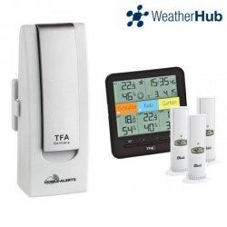 TFA 31.4007 internetowy system pomiarowy WeatherHub  zestaw startowy do 50 czujników