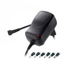 Zasilacz uniwersalny Minwa 600 mA 3-12 V dc adapter różne wtyczki walcowe