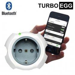 Gniazdko sieciowe bezprzewodowe TurboEgg Smart Socket inteligentne gniazdko z termometrem i Bluetooth do zdalnej kontroli