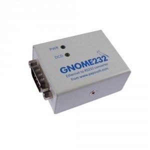 Papouch GNOME232 konwerter sygnału RS232 do Ethernet izolowany galwanicznie
