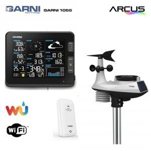 Garni 1055 ARCUS stacja pogody bezprzewodowa on-line WiFI zewnętrzna wiatr, opady, UV