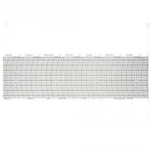 Zootechnika TG-176 paski rejestracyjne temperatury do samopisów termogramy zestaw roczny