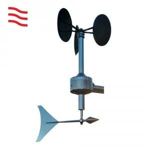 Barani MeteoWind 2 czujnik prędkości i kierunku wiatru wiatromierz mechaniczny profesjonalny 1st Class MEASNET