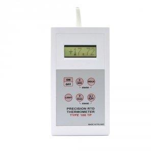 Termometr wzorcowy laboratoryjny 100-TP elektroniczny termorezystancyjny Pt1000 z sondą szpilkową kontrolny do 500C