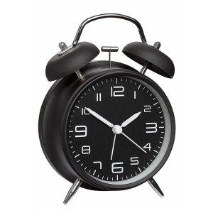 TFA 60.1025 budzik biurkowy zegarek wskazówkowy płynąca wskazówka