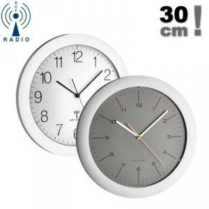 TFA 60.3512 zegar ścienny wskazówkowy sterowany radiowo płynąca wskazówka 30 cm