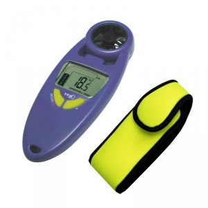 TFA 42.6000 wiatromierz ręczny elektroniczny wiatraczkowy z termometrem