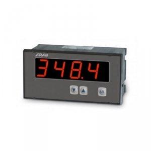 APAR AR518 miernik uniwersalny temperatury i sygnałów analogowych wyświetlacz 25 mm tablicowy 144 x 72 mm wyjście analogowe Modbus RTU