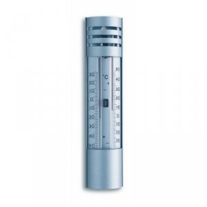 TFA 10.2007 termometr zewnętrzny cieczowy ekstremalny min / max aluminiowy REKLAMOWY