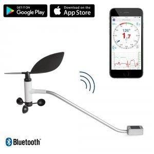Navis Windy FB wiatromierz na jacht bezprzewodowy anemometr do smartfona z korektą GPS