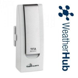 TFA 31.4000 system pomiarowy internetowy WeatherHub zestaw startowy do 50 czujników