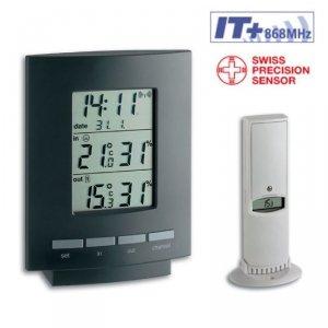 TFA 30.3013 MAXIM II termohigrometr bezprzewodowy z czujnikiem zewnętrznym bezprzewodowym