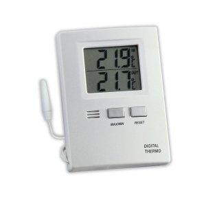 TFA 30.1012 termometr elektroniczny z zewnętrznym czujnikiem przewodowym REKLAMOWY