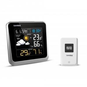 Garni 525 stacja pogody bezprzewodowa  z czujnikiem zewnętrznym temperatury i wilgotności
