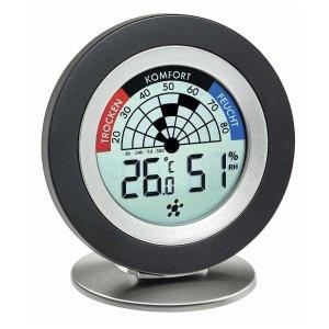 TFA 30.5043 COSY RADAR termohigrometr domowy bezprzewodowy wewnętrzny monitor klimatu do systemu WeatherHub Smart Home