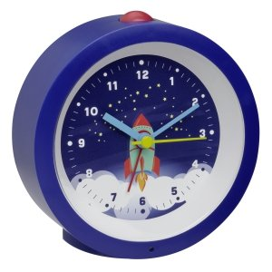 TFA 60.1033 budzik biurkowy zegarek wskazówkowy płynąca wskazówka