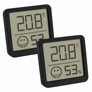TFA 30.5053 termohigrometr domowy elektroniczny wewnętrzny 2 sztuki