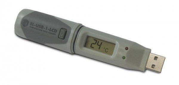 Corintech USB-T-LCD rejestrator temperatury data logger termometr USB