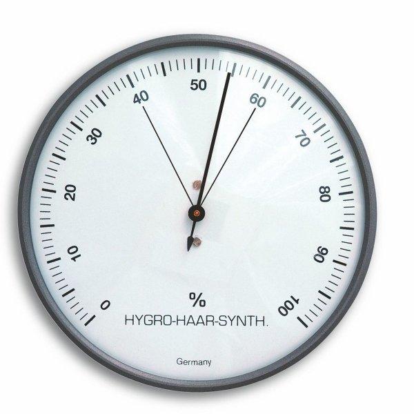 TFA 44.2003 higrometr tradycyjny wilgotnościomierz mechaniczny włókna syntetyczne 103 mm