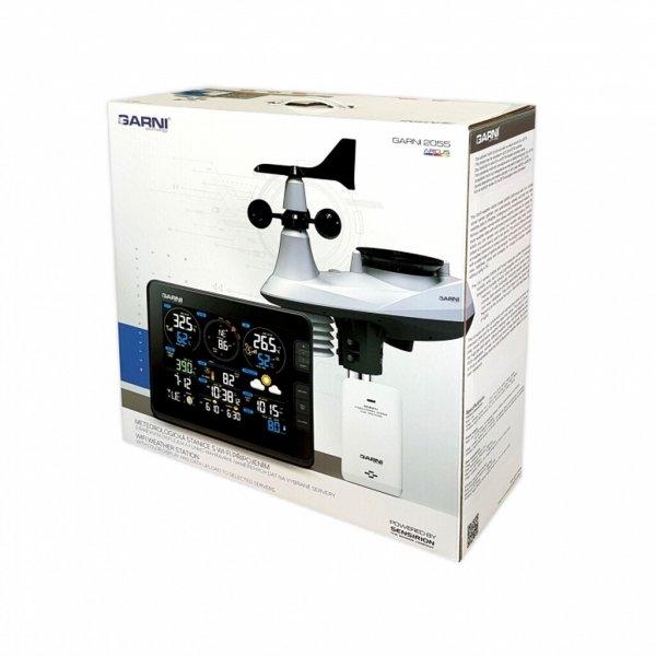Garni 2055 ARCUS stacja pogody bezprzewodowa 7 w 1 internetowa WiFi dokładna