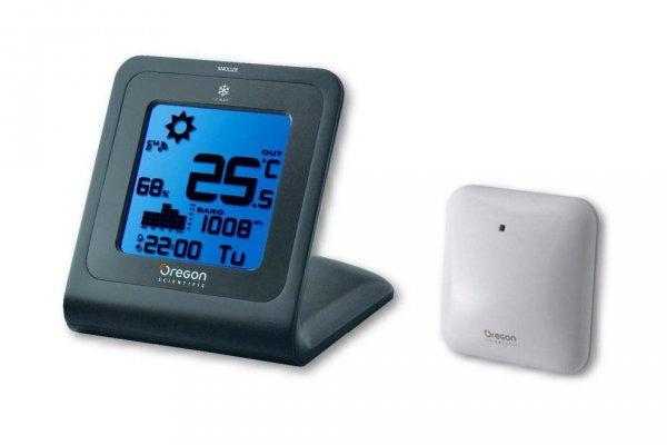 Oregon SL 103 stacja pogody bezprzewodowa  z czujnikiem zewnętrznym i ekranem dotykowym
