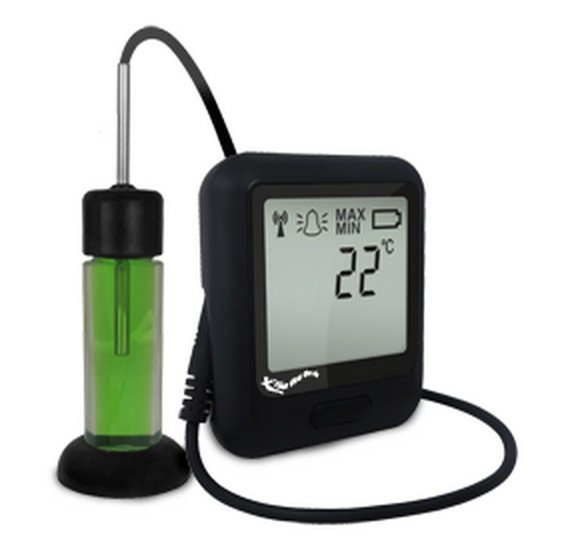 Corintech EL-WiFi-TP+PROBE-G rejestrator temperatury do szczepionek internetowy data logger WiFi, IP, Ethernet z sondą termistorową